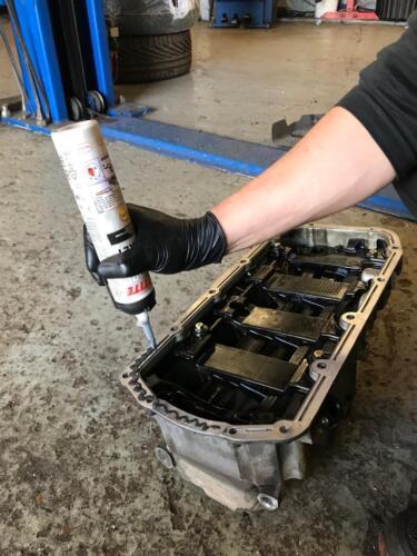 Wymiana uszczelki pompy oleju Vauxhal Insignia